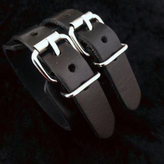 Double Leather Bracelet