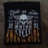 T-shirt Born to Ride