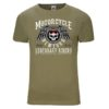 -shirt Motorcycle New York(olive green)