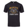 T-shirt Motorcycle New York (Black)