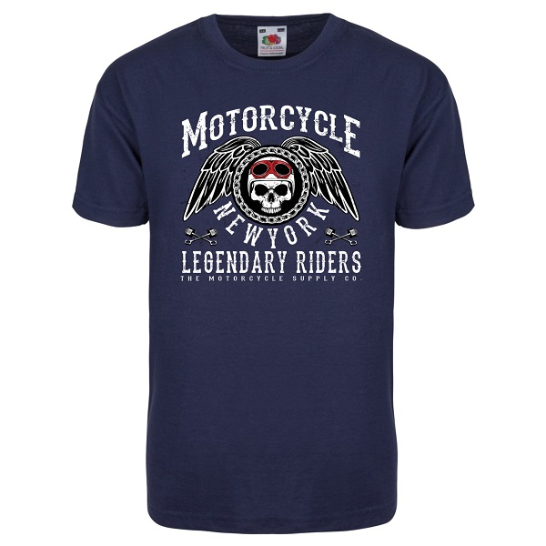 T Shirt Design York: T-shirt Motorcycle New York Has A Vintage Design And Is
